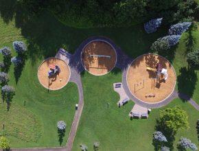 Cemetery Playground Design, Build, Maintain