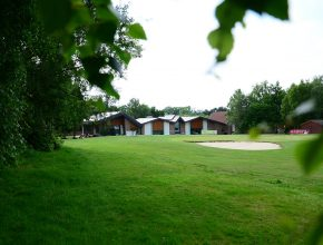 far away shot of Tilgate Forest Club House