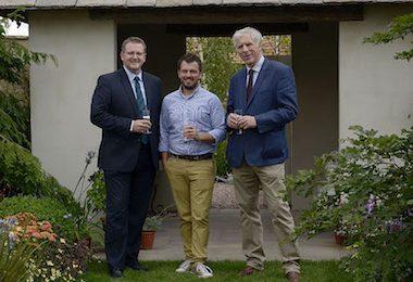 Wayne Grills, Paul Hervey-Brookes and Tony Hewitt of Glendale